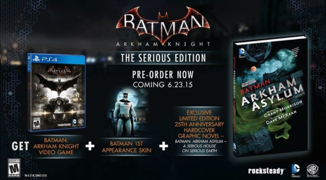 Batman Arkham Knight Serious Edition