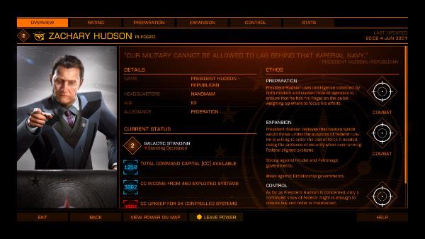 Elite: Dangerous Powerplay