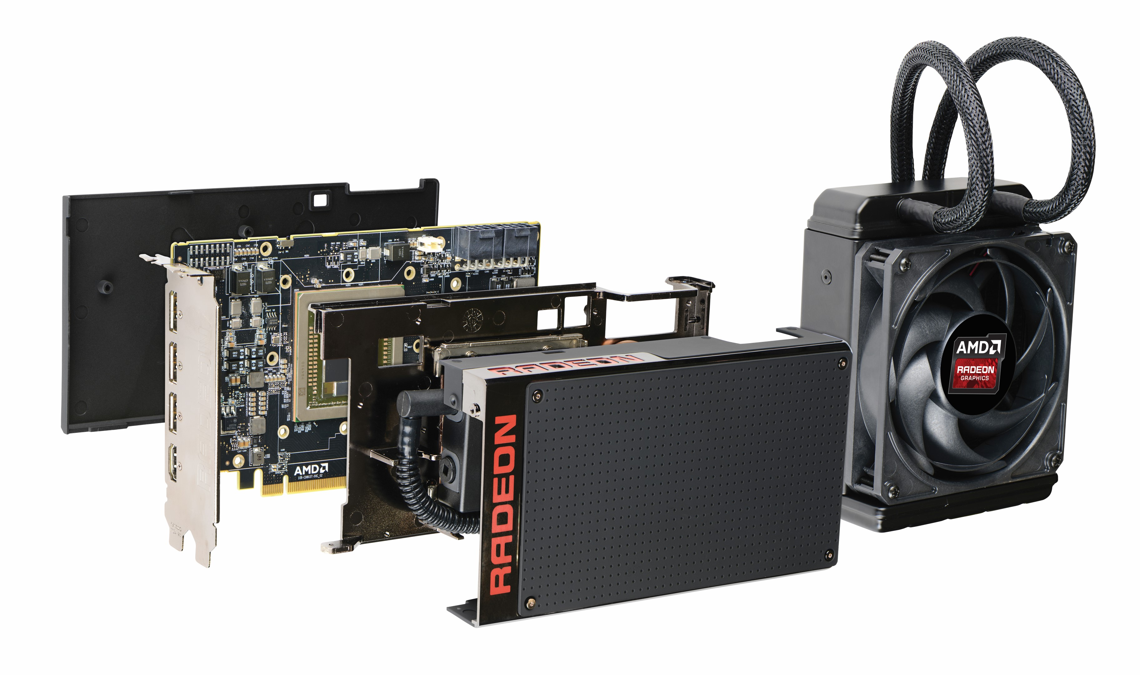 AMD Radeon R9 Fury X Layers