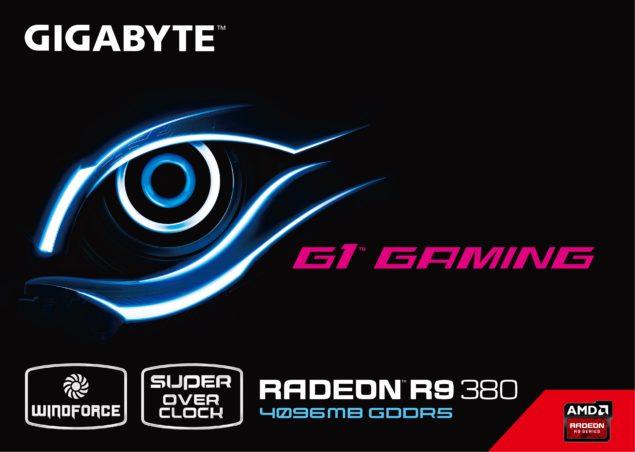 Gigabyte Radeon R9 380 G1 Gaming