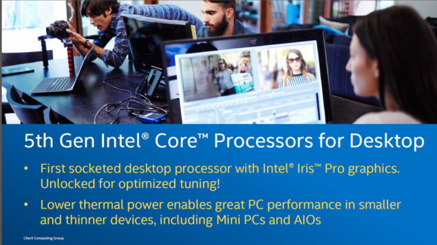 Intel Broadwell Core i7-5775C_5th generation processors
