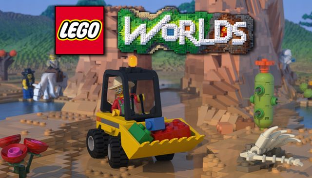 Lego Worlds Build Your Own Vehicles