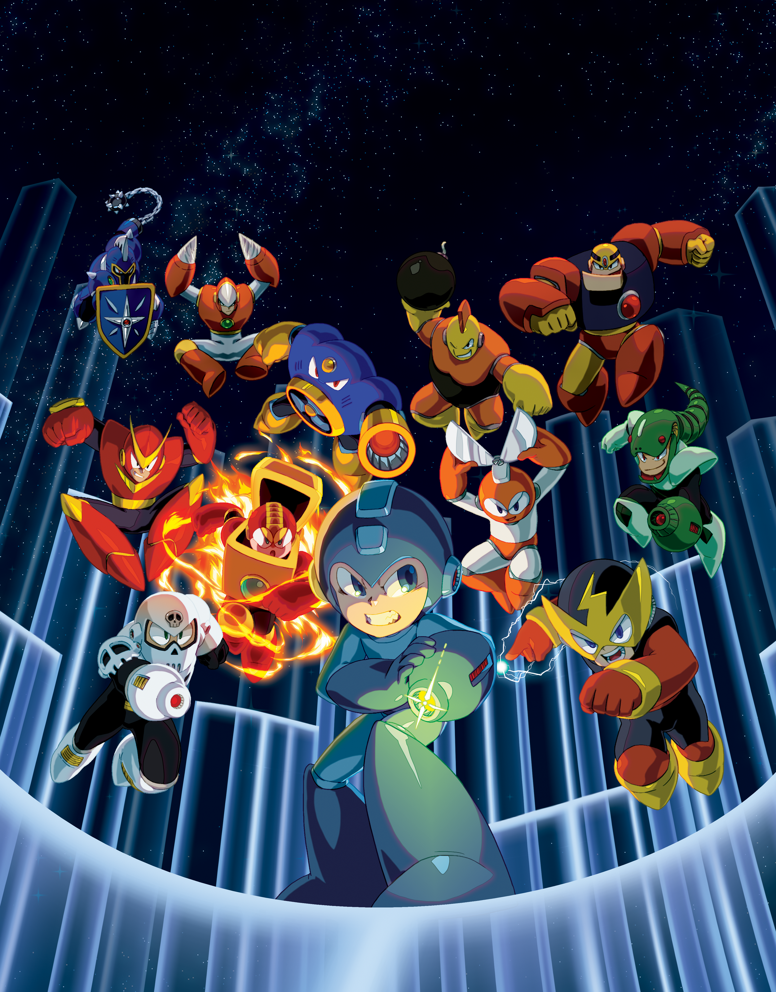 Mega Man Legacy Collection Coming To The Pc  Ps4 And Xbox