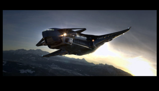 Star Citizen Genesis Starliner