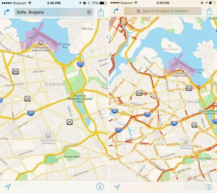 traffic-in-apple-maps