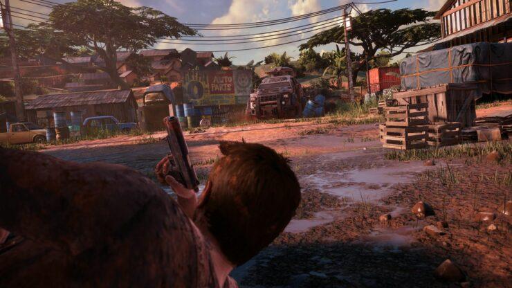 uncharted 4 gameplay screenshots