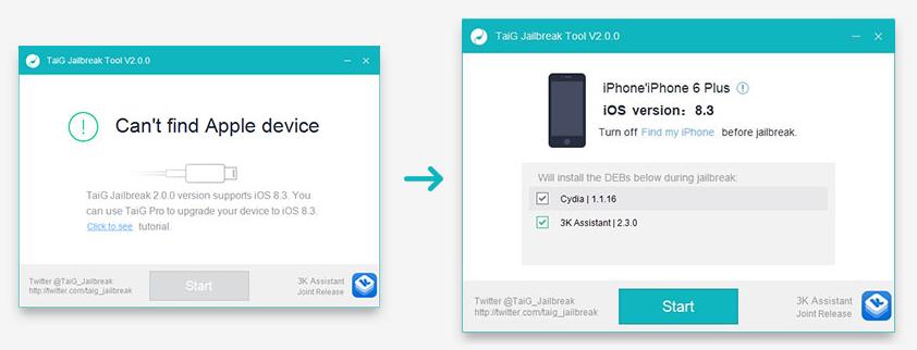 iOS 8 3 - iOS 8 1 3 Untethered Jailbreak for iPhone, iPad
