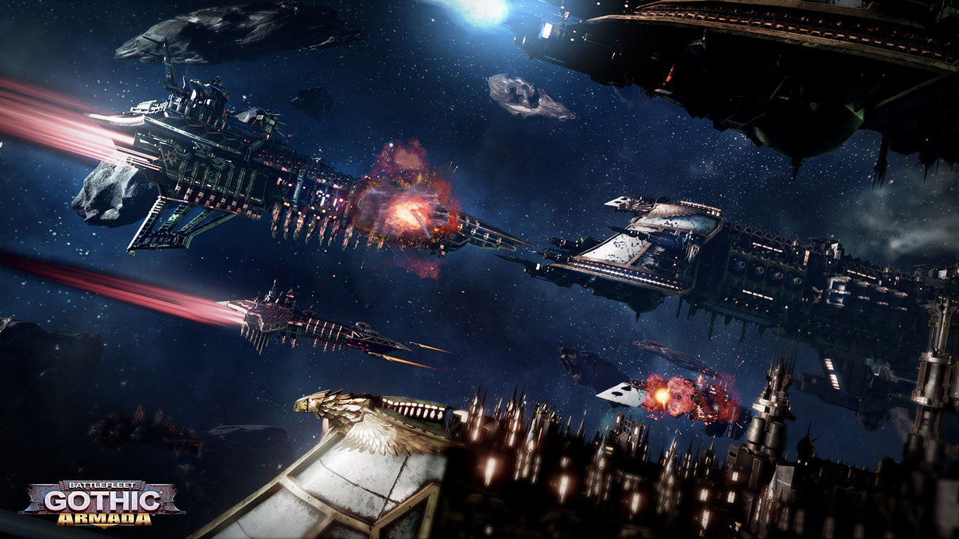 Battlefleet Gothic: Armada Trailer Shows Awesome UE4 Powered