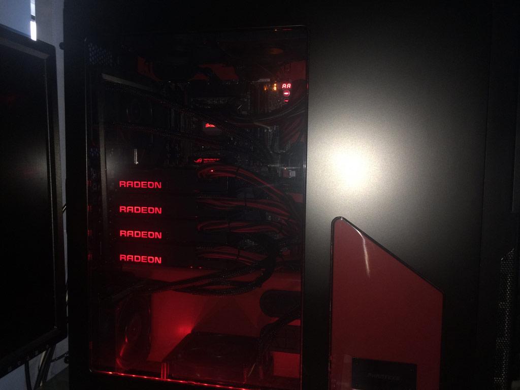 Fury X Quadfire setup