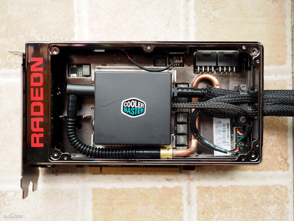 AMD Radeon R9 Fury X Internal Layout