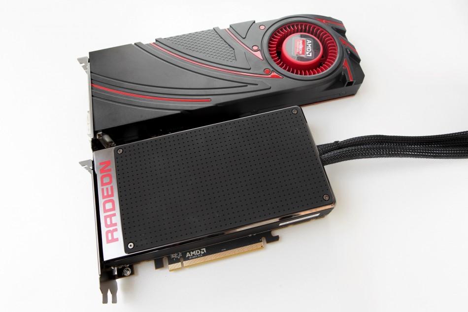 AMD R9 Fury X , R9 290X