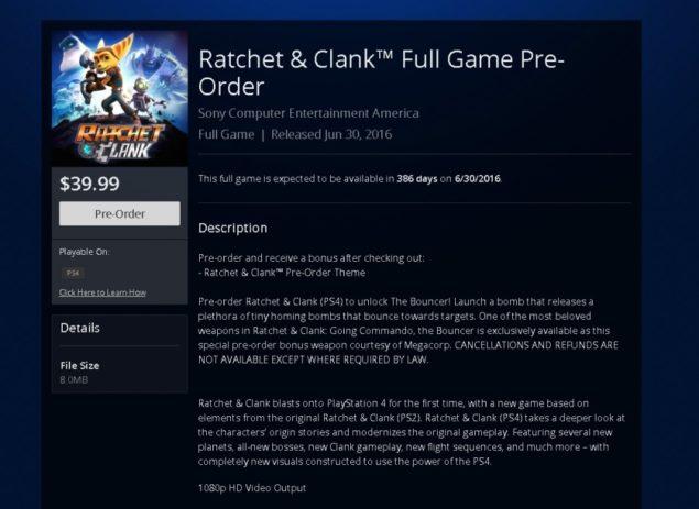 ratcher & clank