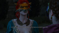 The Witcher 3 - Change Triss' Appearance During the Masquerade