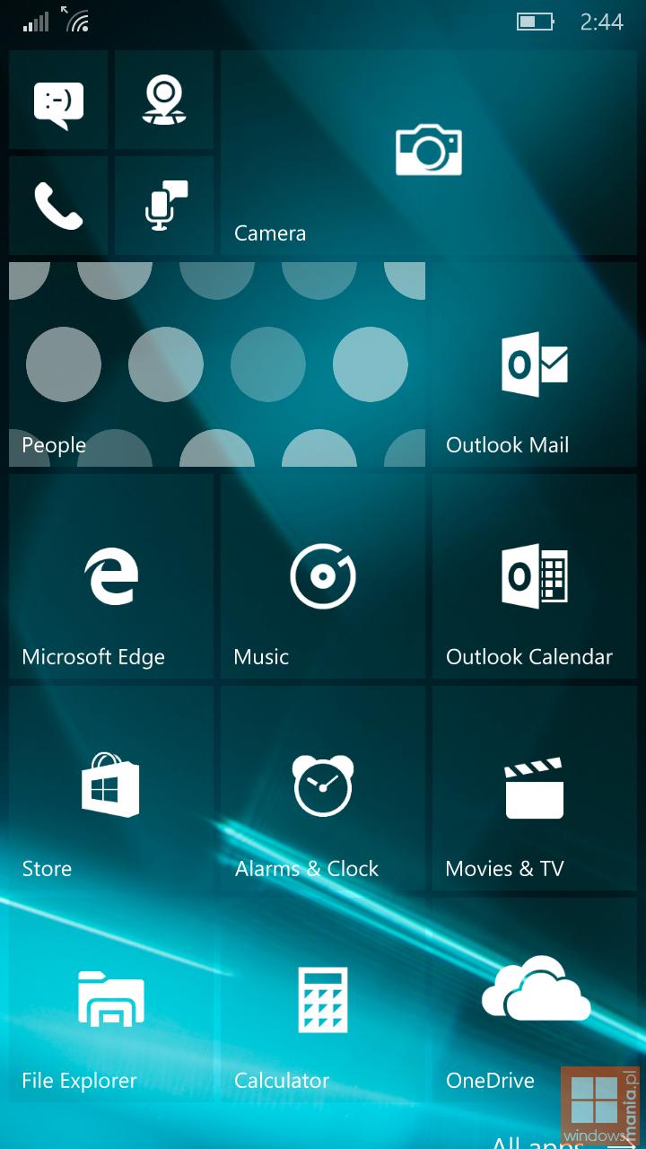 windows 10 mobile 10162