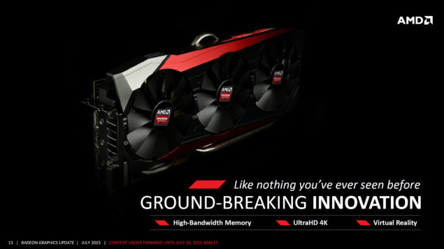 AMD Radeon R9 Fury_Fiji Pro_Card