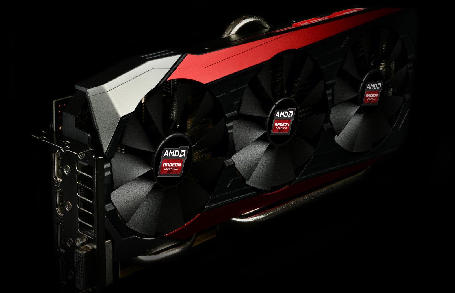 AMD Radeon R9 Fury Asus Strixx