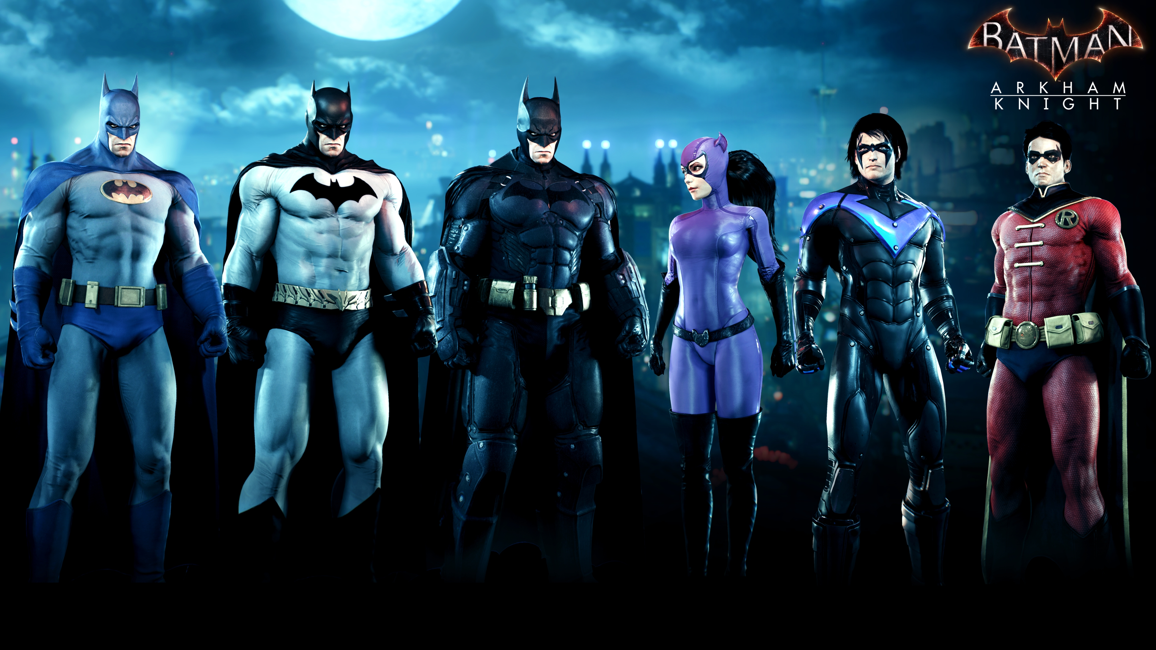 Bat Family Skin Pack & Batman Arkham Knight Gets the Amazing 1989 Tim Burton Costume ...