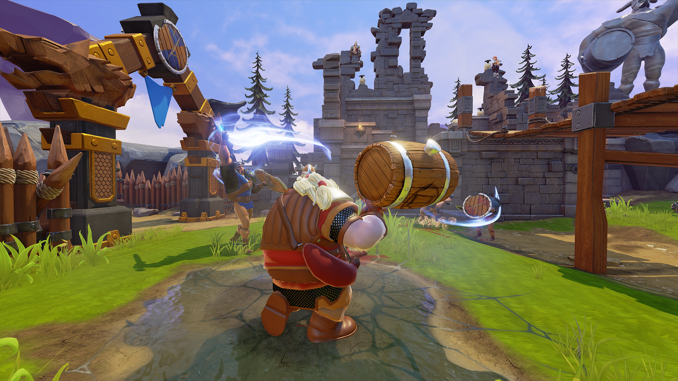 Bierzerkers - Unreal Engine 4 Multiplayer Combat Set in the