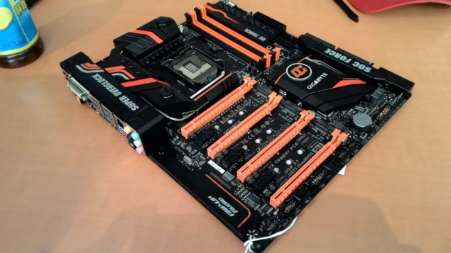 Gigabyte Z170X SOC Force Motherboard_Front 2