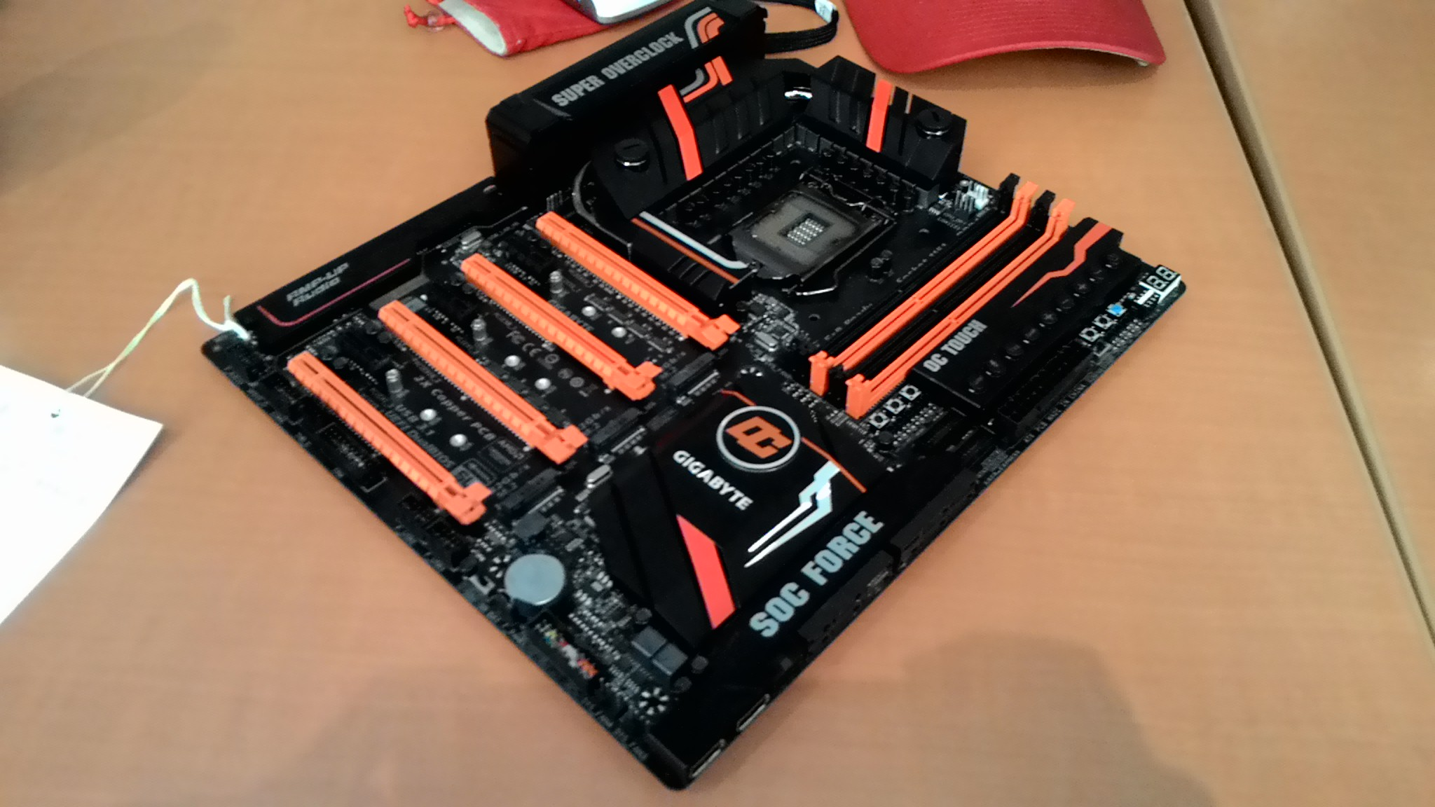 Gigabyte S Impressive Z170x Soc Force Motherboard Unveiled
