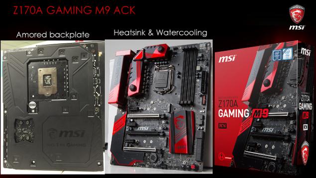 MSI Z170A Gaming M9 ACK