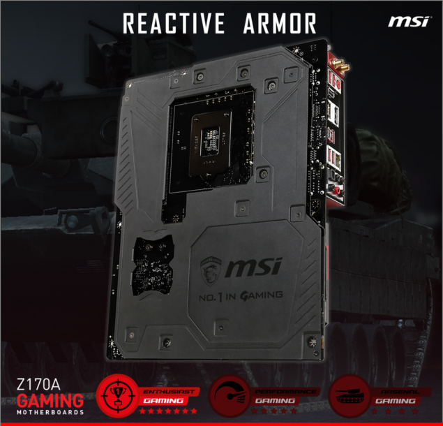 MSI Z170A Gaming Motherboard