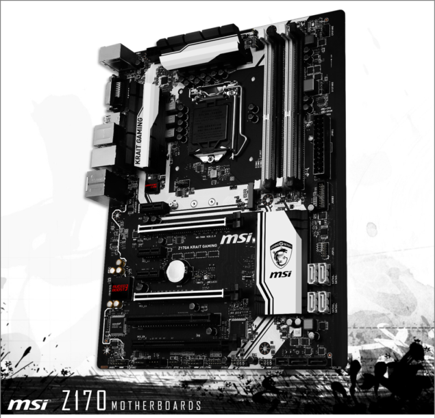 MSI Z170A KRAIT Gaming Motherboard