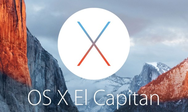 OS X El Capitan Beta 4