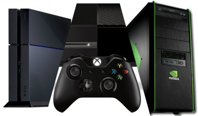 PS4 Xbox One PC