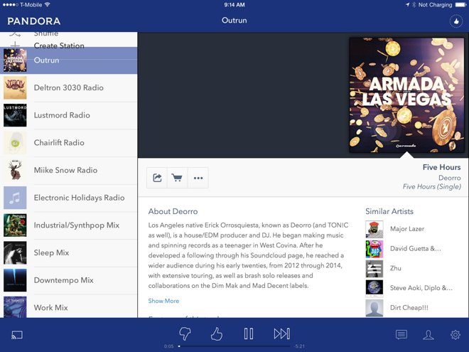 Pandora Has Seen No Loss In Traffic From Apple Music Debut