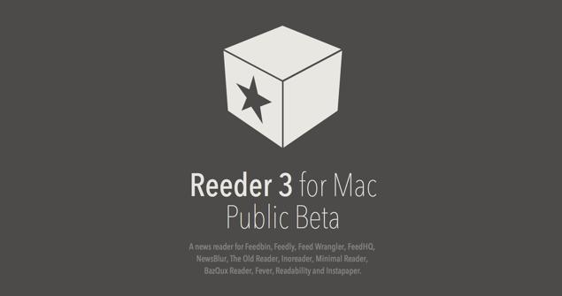 Reeder 3 for Mac