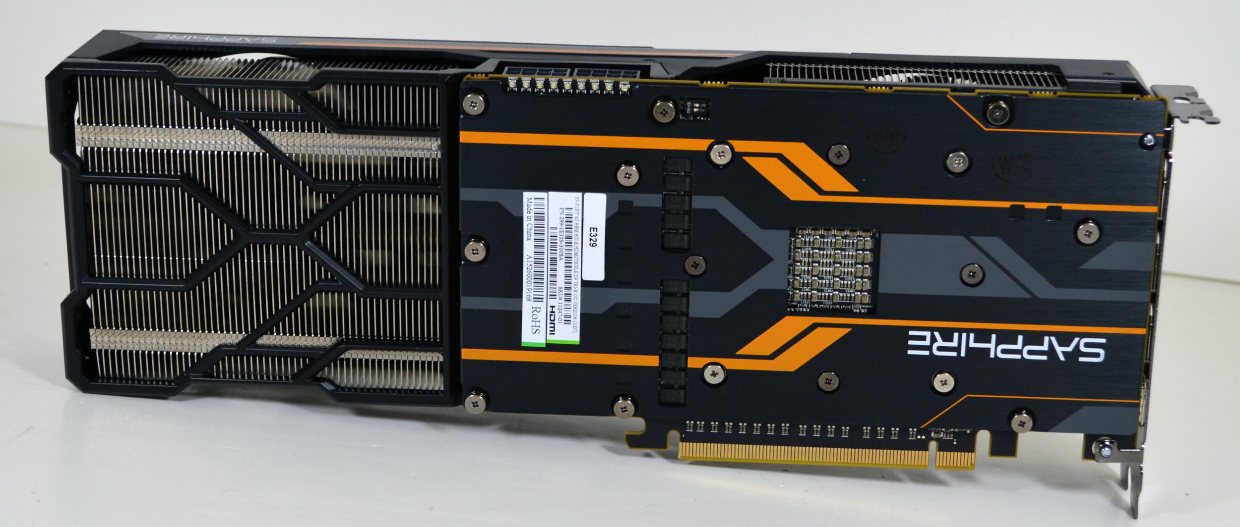 AMD Radeon R9 Fury Sapphire Tri-X Back