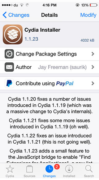 taig 2.4.2 beta cydia 1.1.23