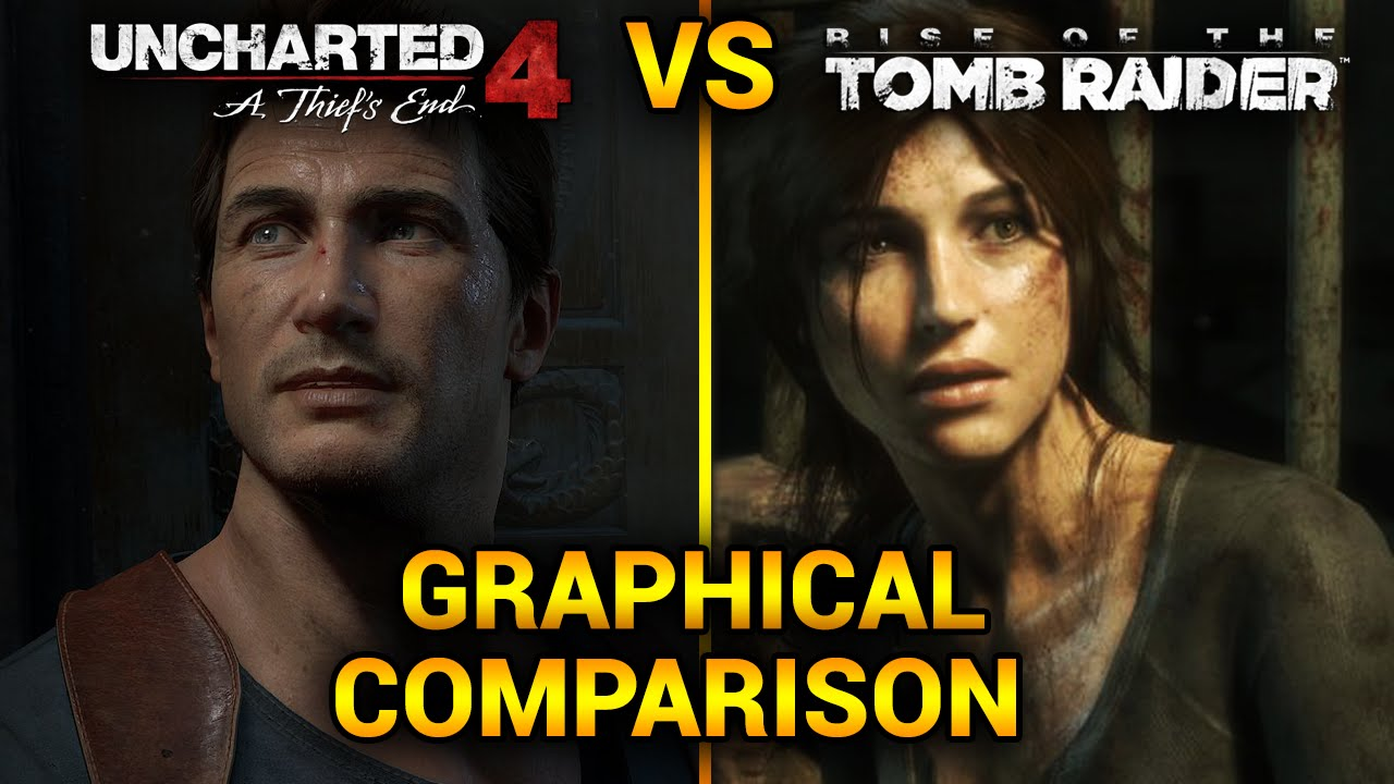 Uncharted 4 Vs Rise Of The Tomb Raider Graphics Comparison