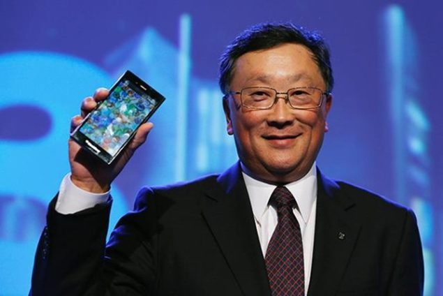 BlackBerry is not going anywhere, according to CEO