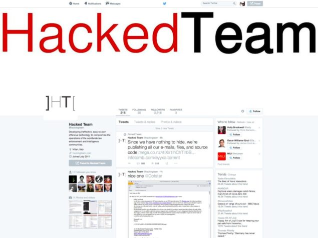 hacking team targets