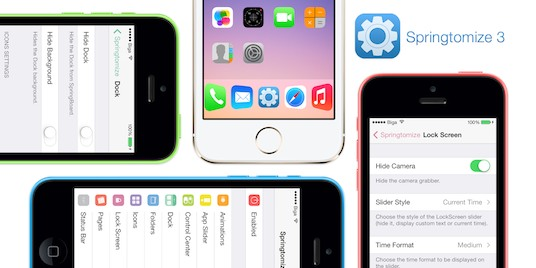 Springtomize 3 With iOS 9 Support Is Right Around The Corner
