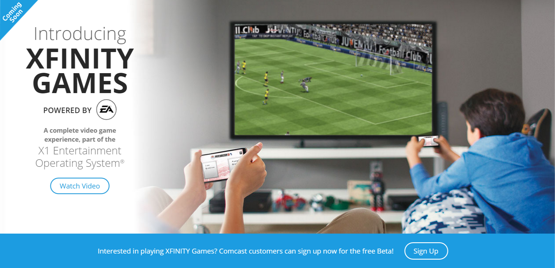 EA Partners With Comcast For Xfinity Games, Game Streaming