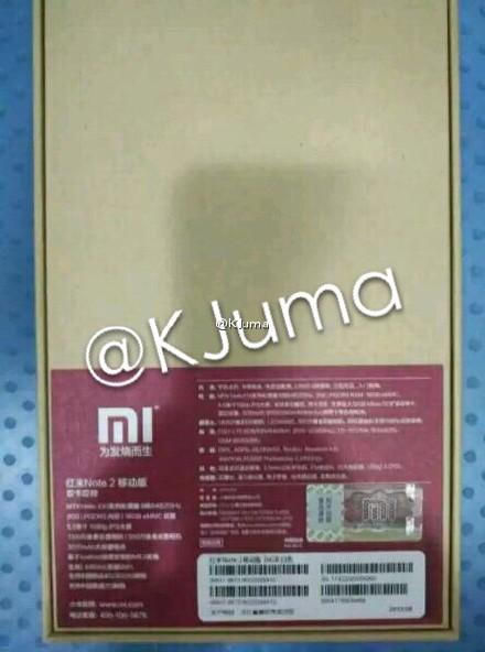 Last Minute Redmi Note 2 Hardware Leak Confirms MT6795 SoC Present
