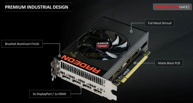 AMD Radeon R9 Nano Design
