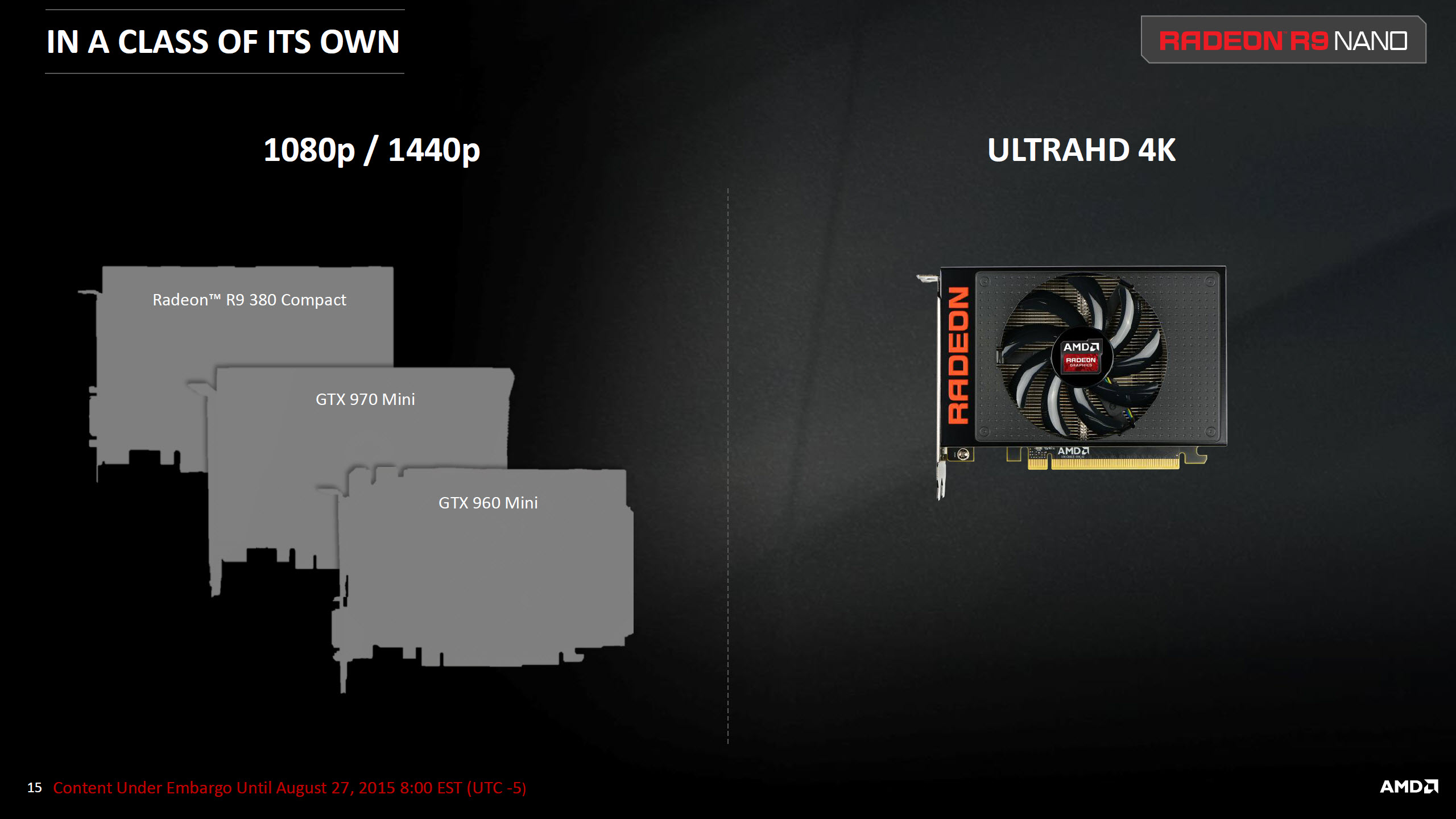 AMD Radeon R9 Nano Can Be CrossFired With Radeon R9 Fury X - Fiji
