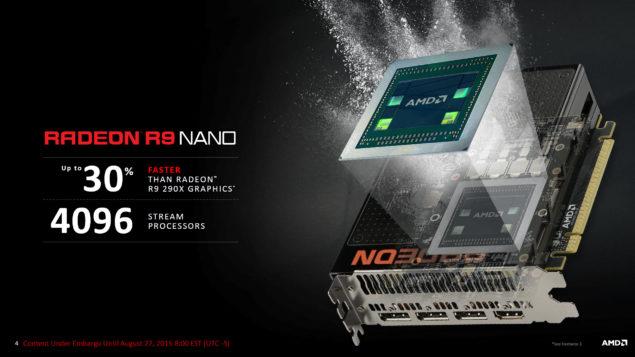 AMD Radeon R9 Nano_Fiji GPU