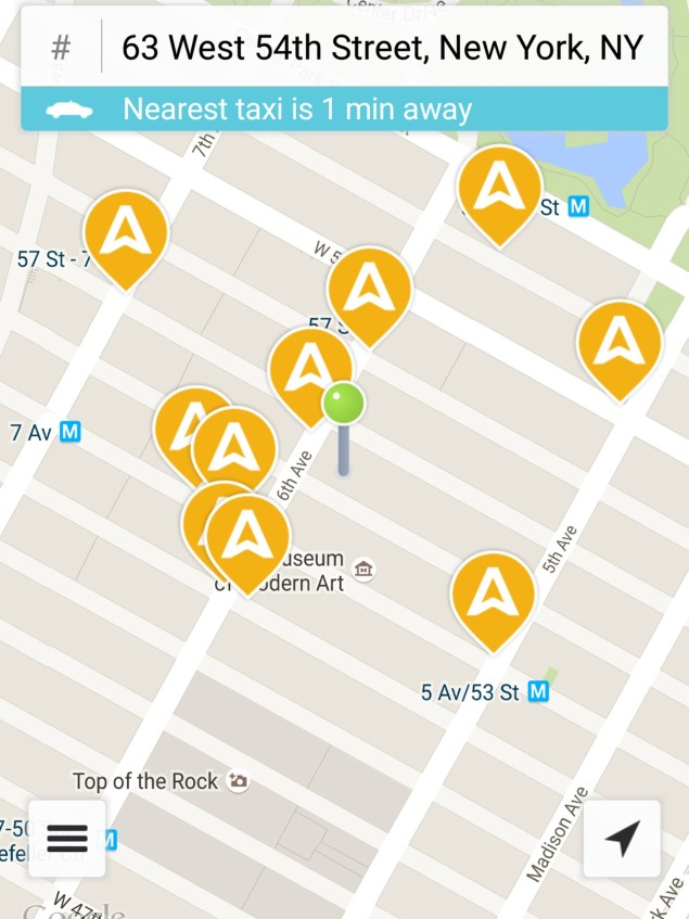 New York City's Taxi Industry Launches Their Own App To