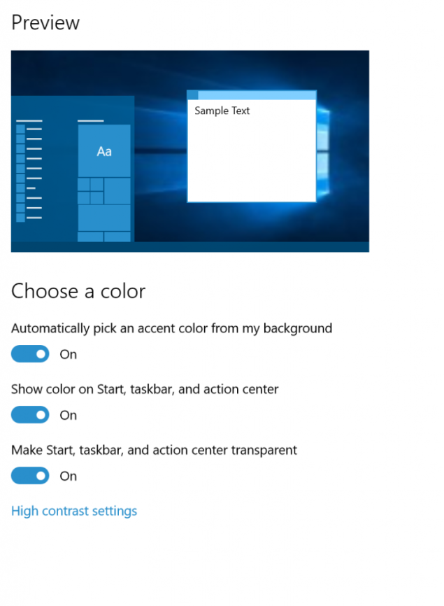 windows 10 10525 features
