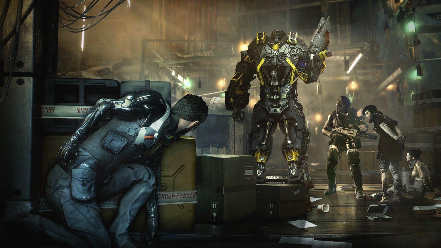 Deus Ex Mankind Divided PC patch 4