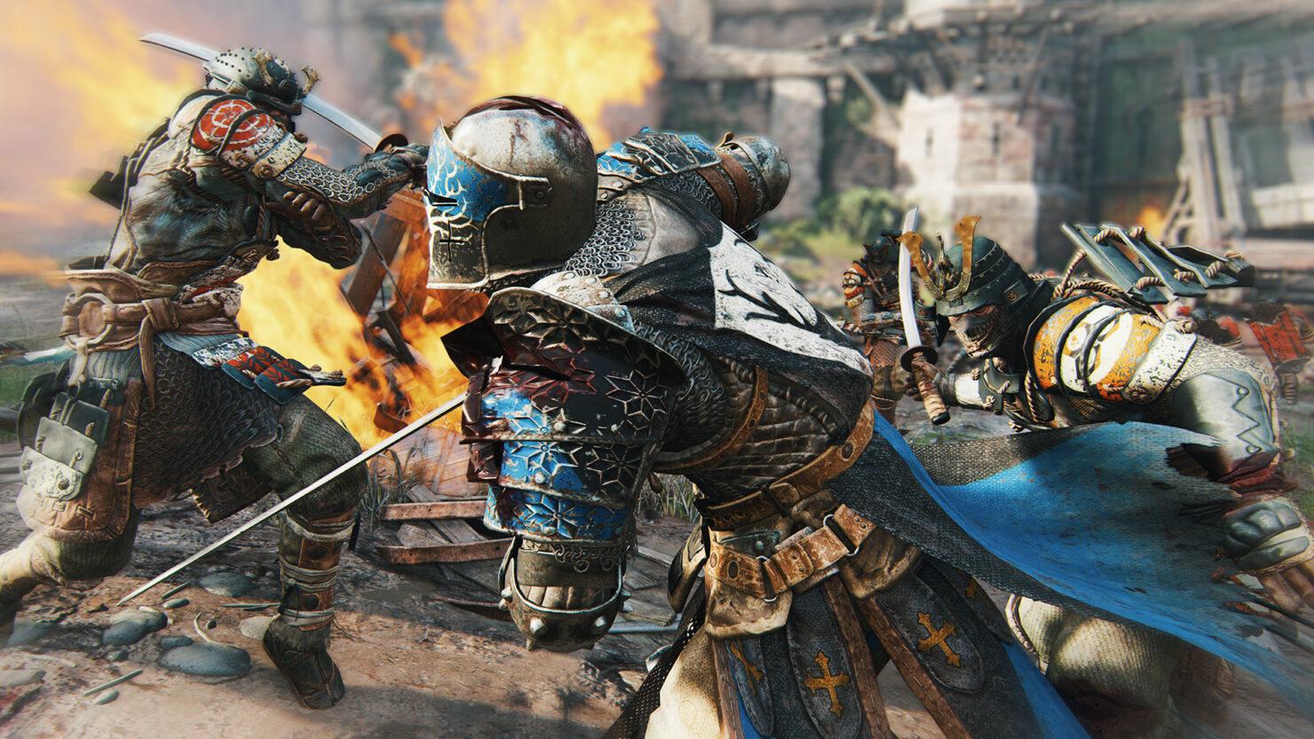 for_honor_screen_harrowgate_samuraisattackwarden