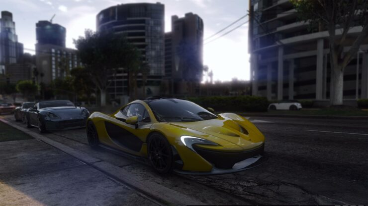 GTA V New ENBSeries Modded 4K Screenshots Add New Flair to ...