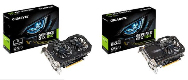 Gigabyte GeForce GTX 950 WindForce 2X