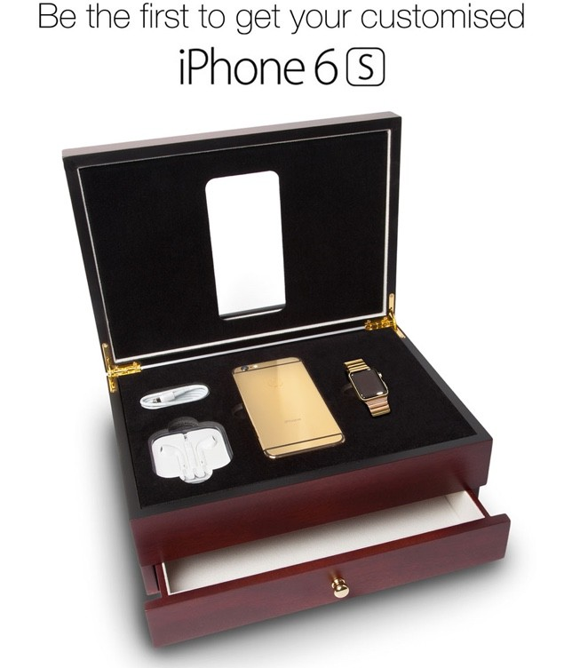 Goldgenie iPhone 6s gold
