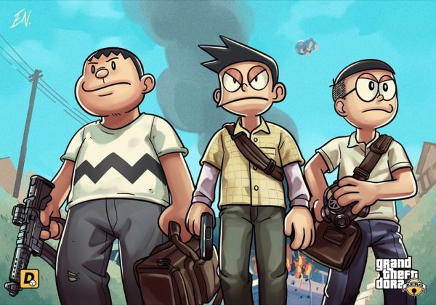 grand-theft-auto-anime-doraemon-2
